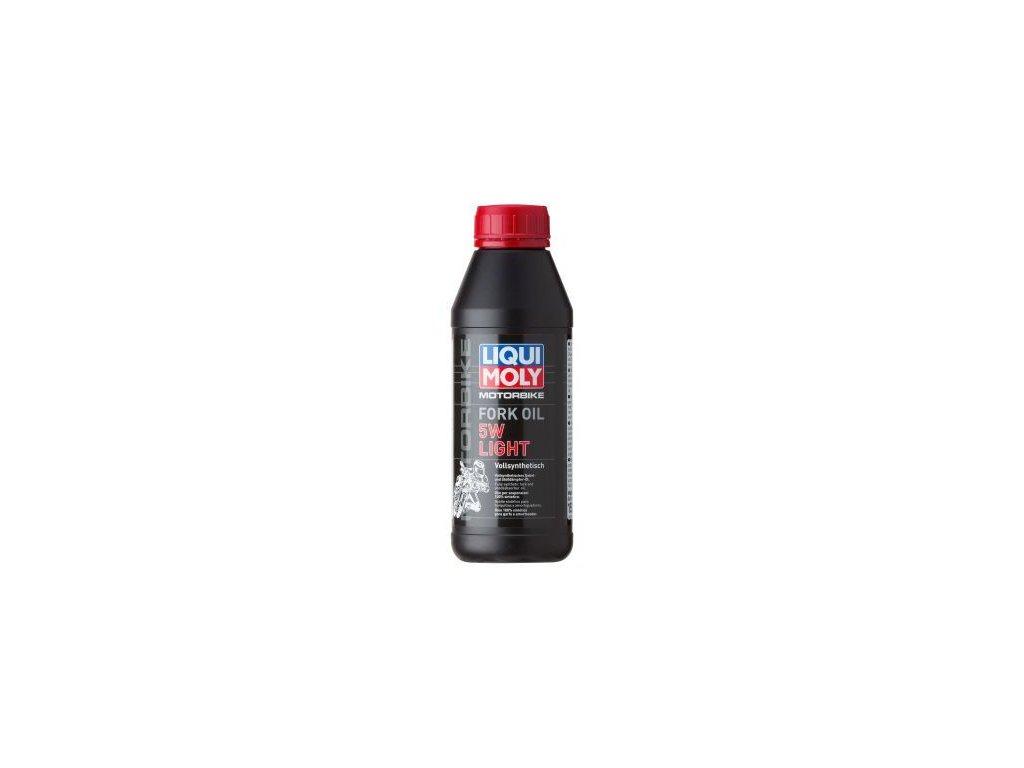 Olej do vidlice LIQUI MOLY Motorbike Fork Oil 5W light 1523