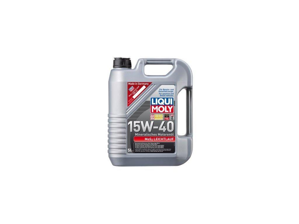 Motorový olej LIQUI MOLY MoS2 Leichtlauf 15W-40 2571