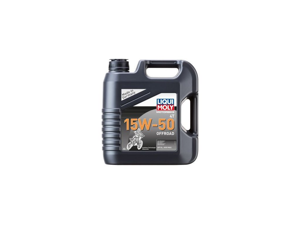 Motorový olej LIQUI MOLY Motorbike 4T 15W-50 Offroad 3058