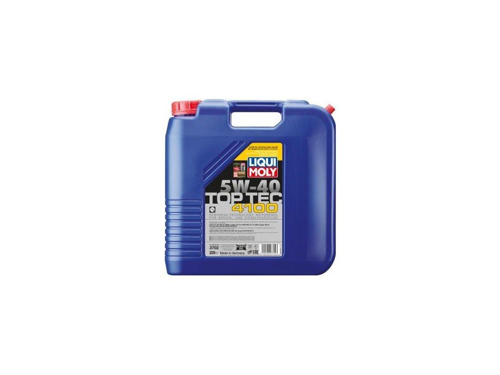 Motorový olej LIQUI MOLY Top Tec 4100 5W-40 3702