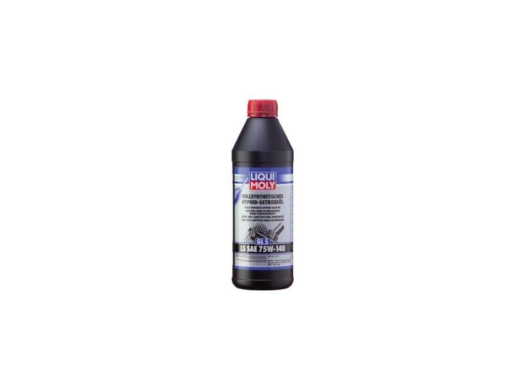Olej do diferencialu LIQUI MOLY Vollsynthetisches Hypoid-Getriebeöl (GL5) LS SAE 75W-140 4421