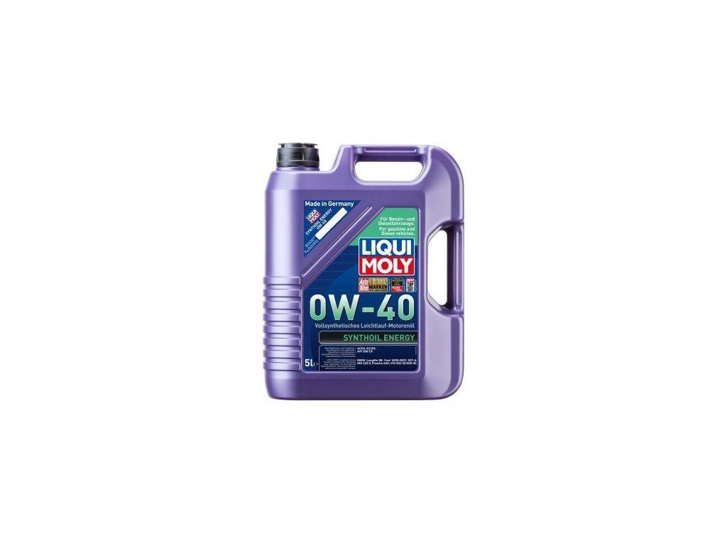 Motorový olej LIQUI MOLY Synthoil Energy 0W-40 9515