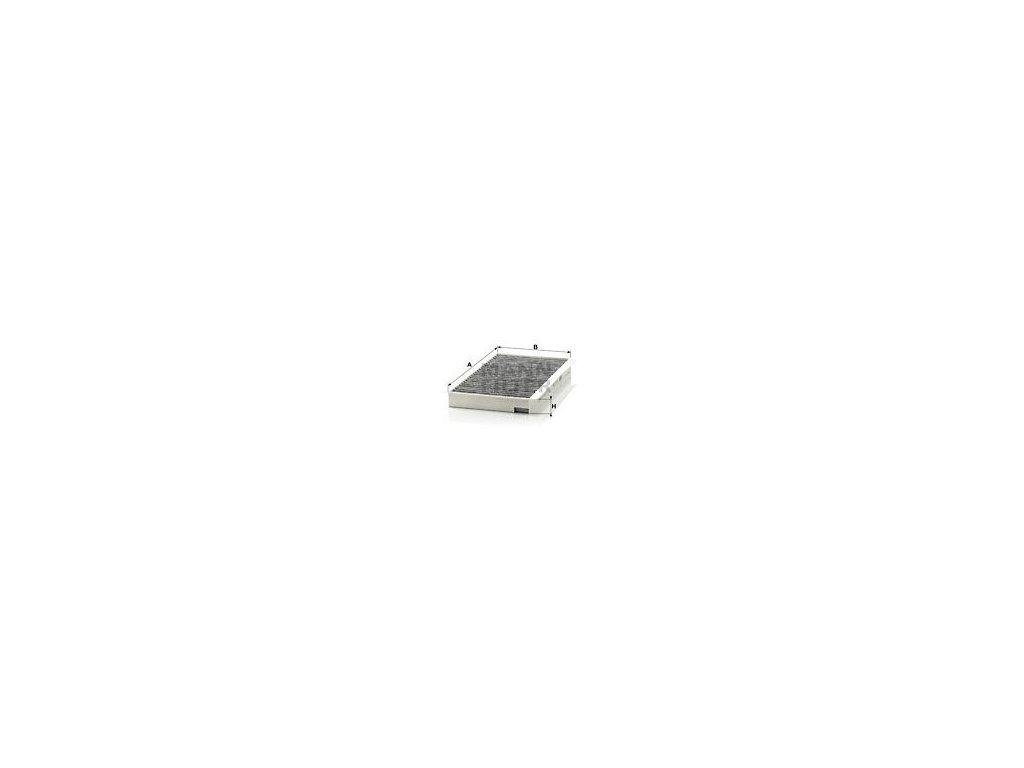 Filtr, vzduch v interiéru MANN-FILTER CUK 3139