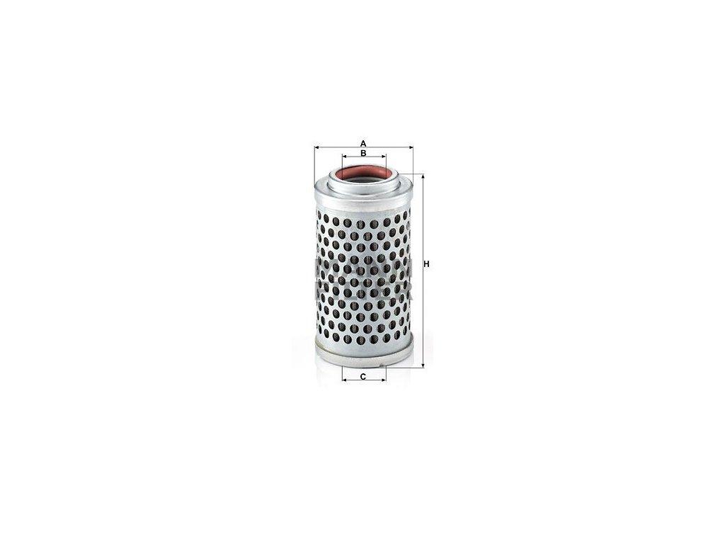 Palivový filtr MANN-FILTER P 54 x