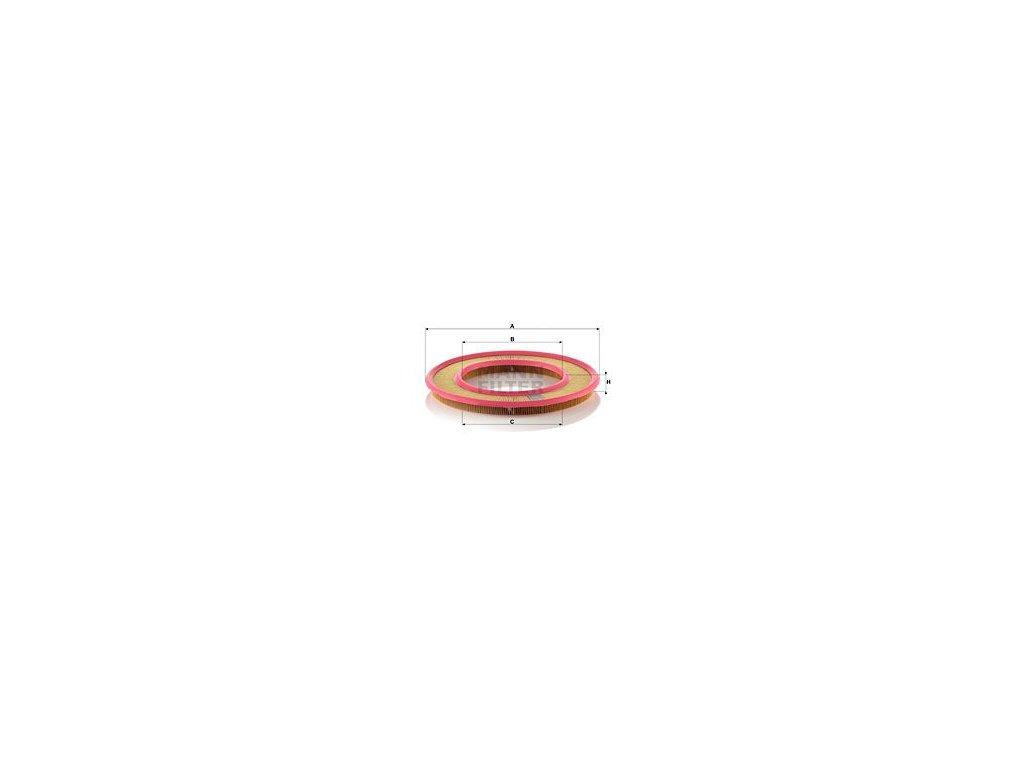 Vzduchový filtr MANN-FILTER C 3555