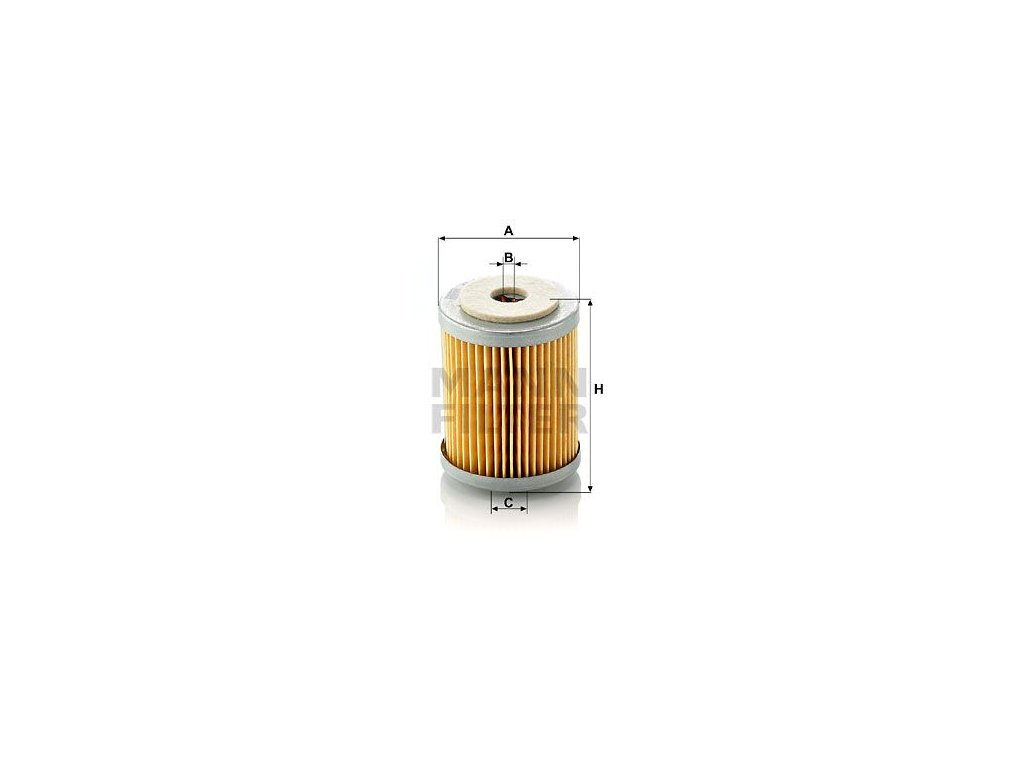 Palivový filtr MANN-FILTER P 609