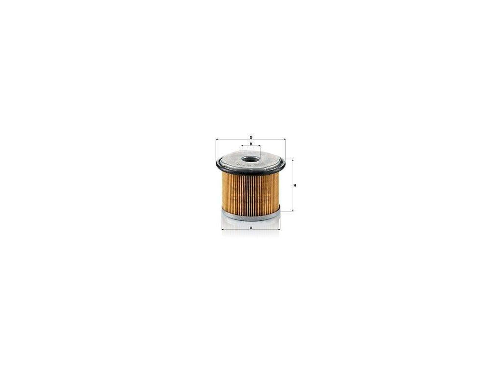 Palivový filtr MANN-FILTER P 716