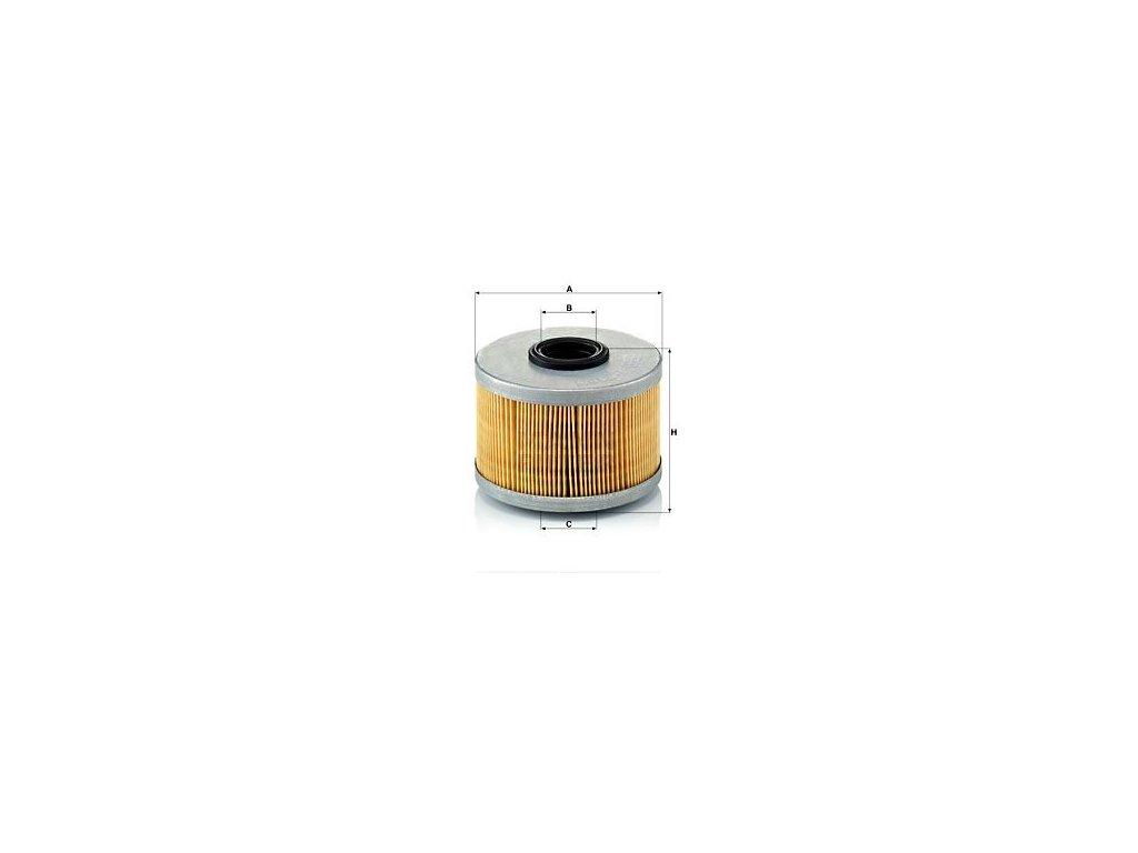 Palivový filtr MANN-FILTER P 716/1 x
