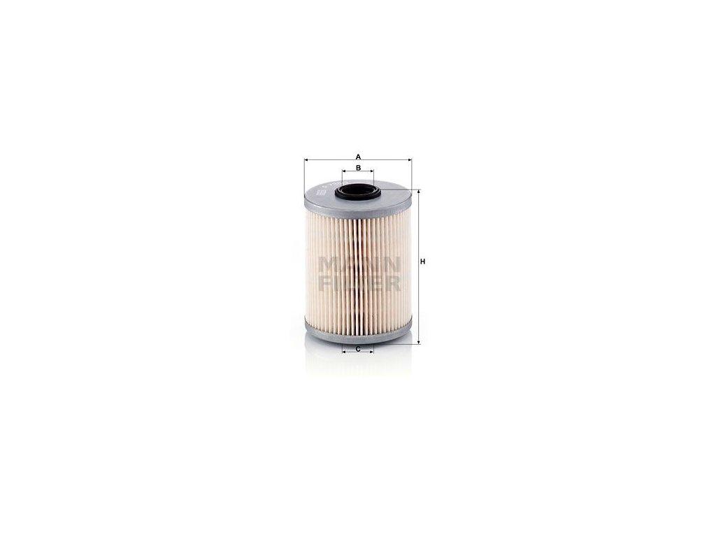 Palivový filtr MANN-FILTER P 733/1 x