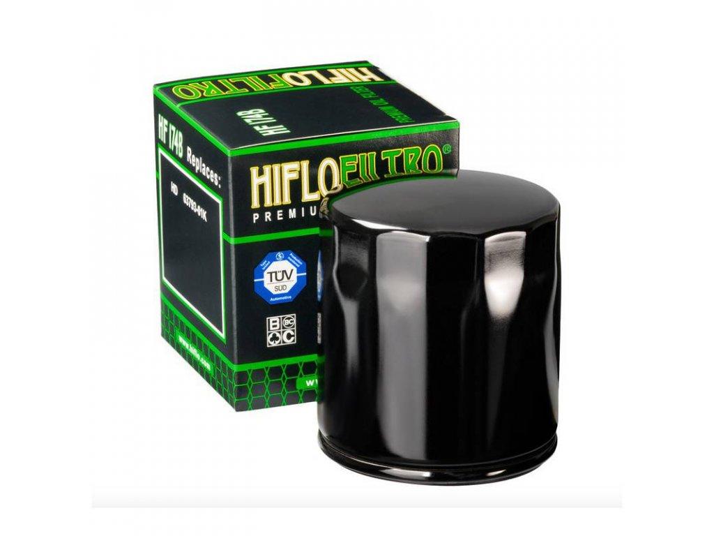 Olejový filtr HF174B černá