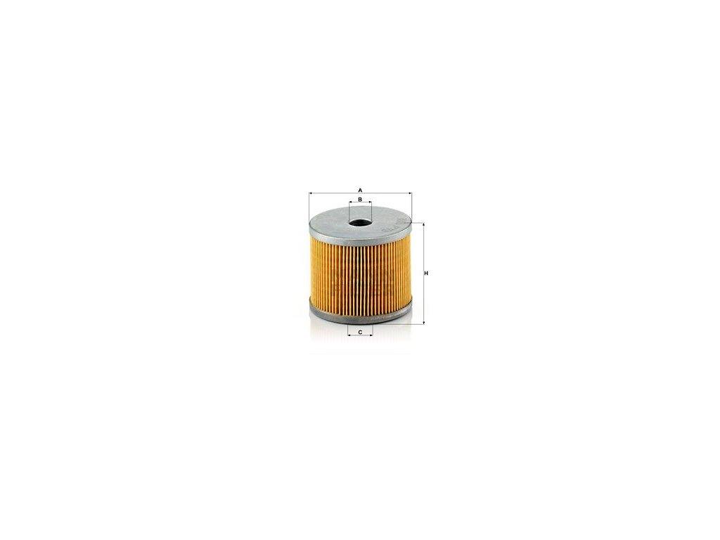 Palivový filtr MANN-FILTER P 78 x