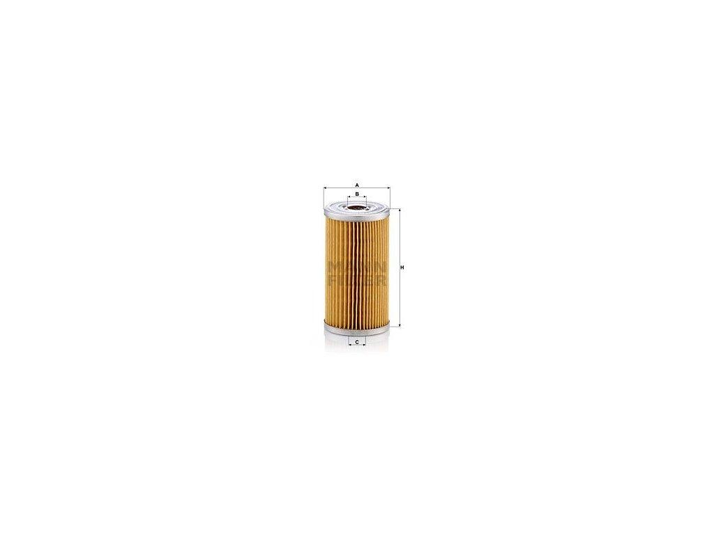 Palivový filtr MANN-FILTER P 8014