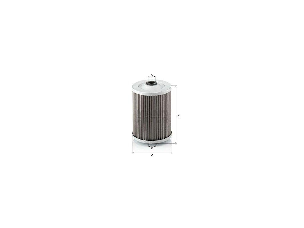 Palivový filtr MANN-FILTER P 990
