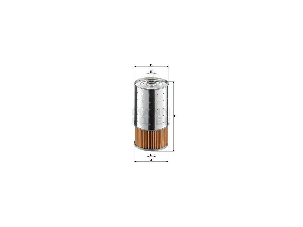 Olejový filtr MANN-FILTER PF 1050/1 n