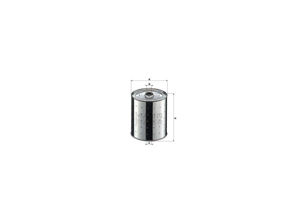 Olejový filtr MANN-FILTER PF 1155