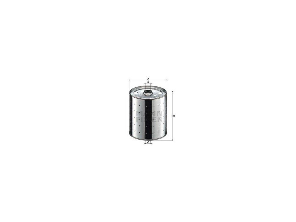 Olejový filtr MANN-FILTER PF 1155 k