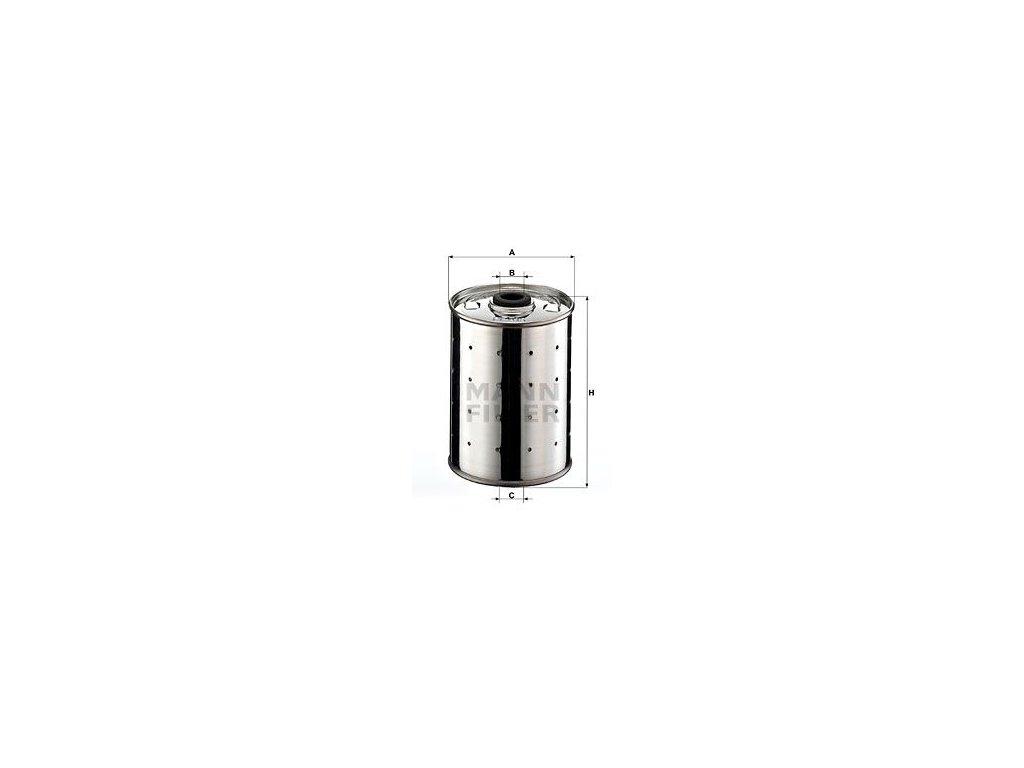 Olejový filtr MANN-FILTER PF 815