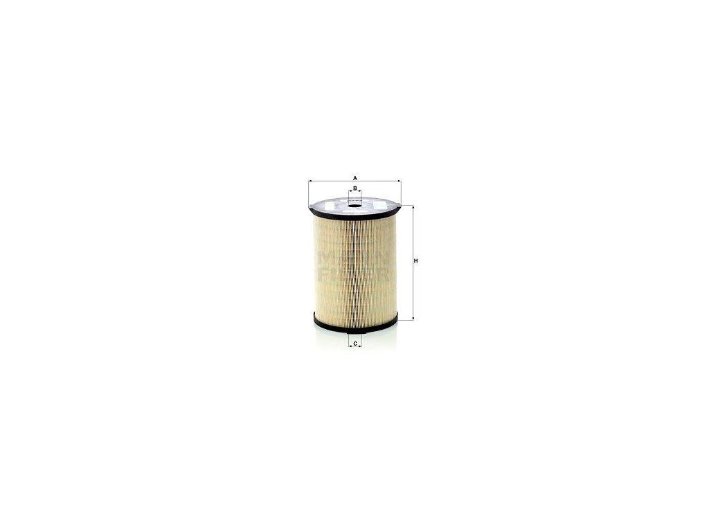 Olejový filtr MANN-FILTER PFU 19 226 x