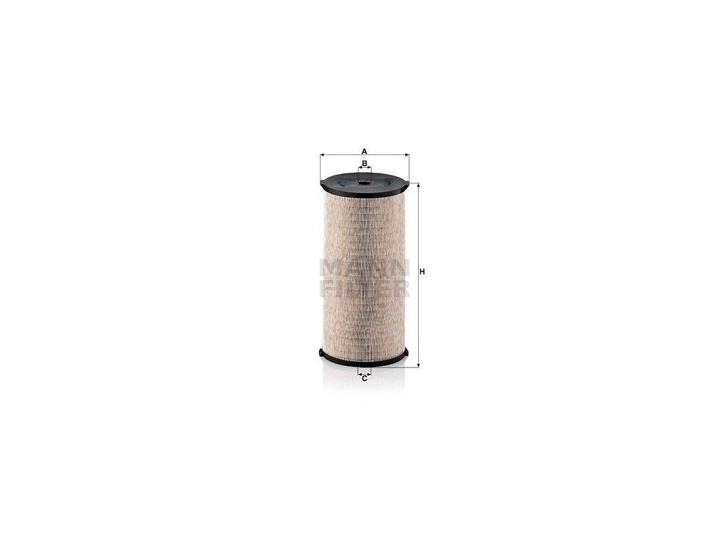 Olejový filtr MANN-FILTER PFU 19 326 x