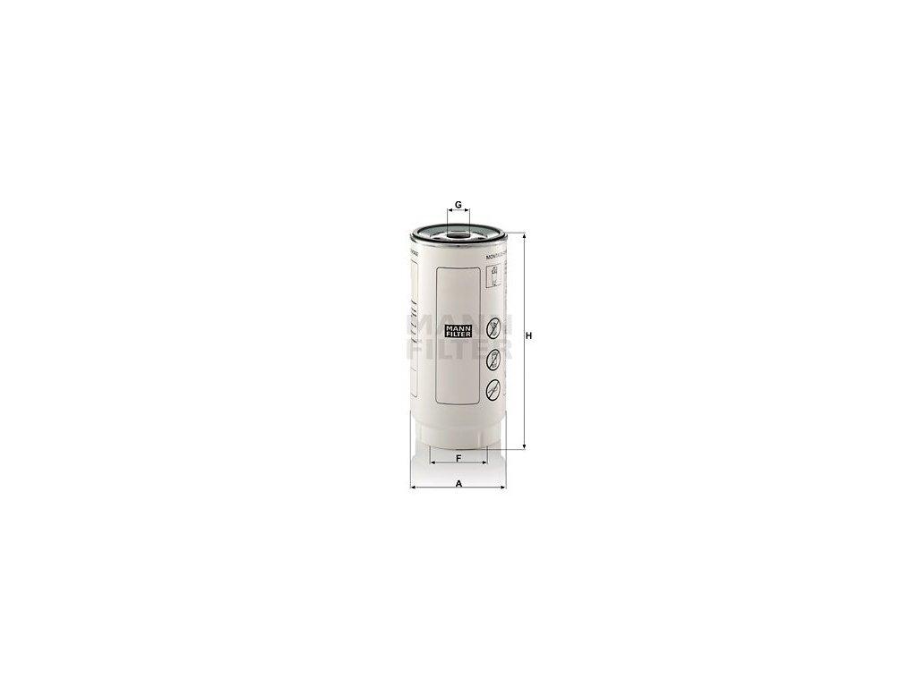Palivový filtr MANN-FILTER PL 420/7 x