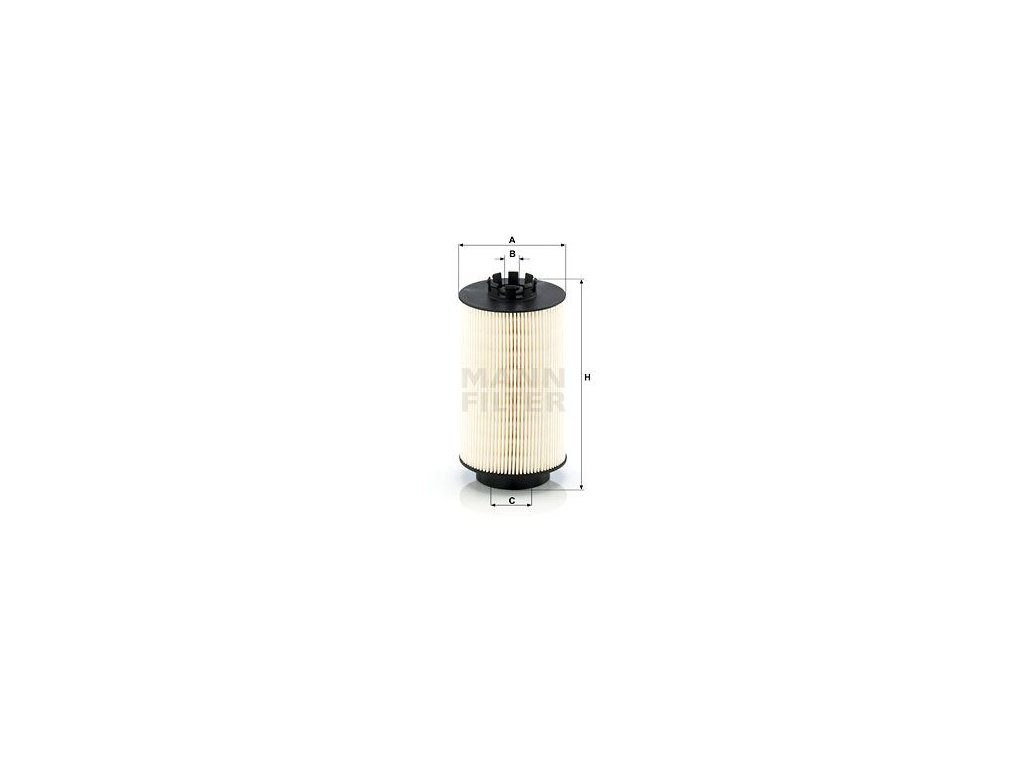 Palivový filtr MANN-FILTER PU 10 008 x