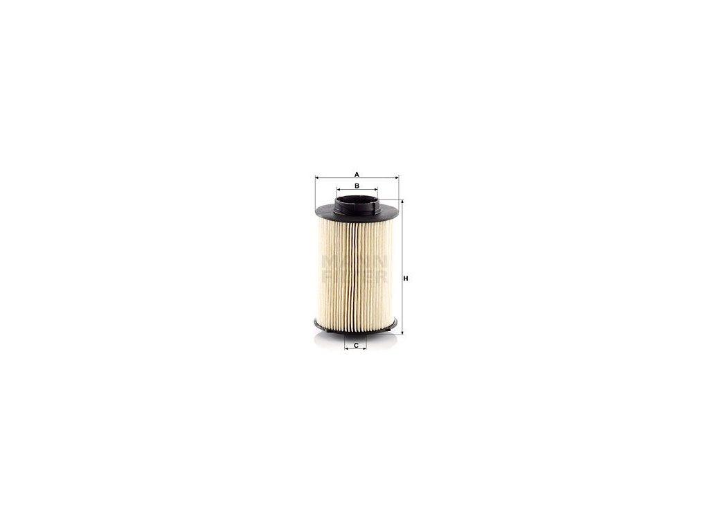 Palivový filtr MANN-FILTER PU 10 020 x