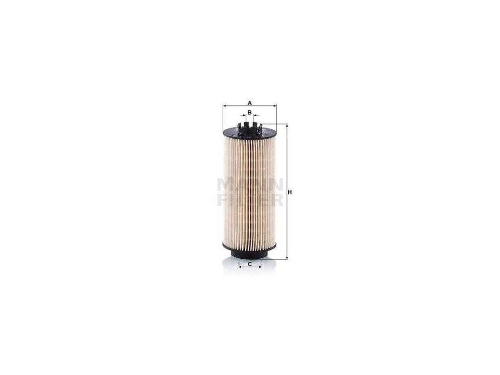 Palivový filtr MANN-FILTER PU 10 022 z