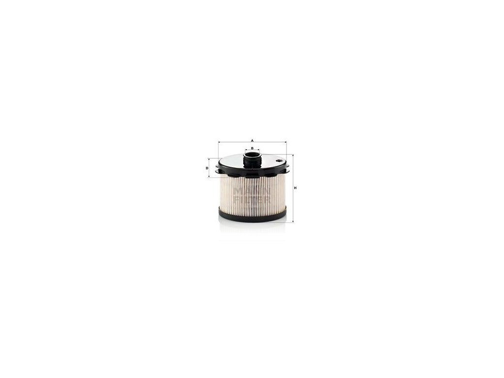 Palivový filtr MANN-FILTER PU 1021 x