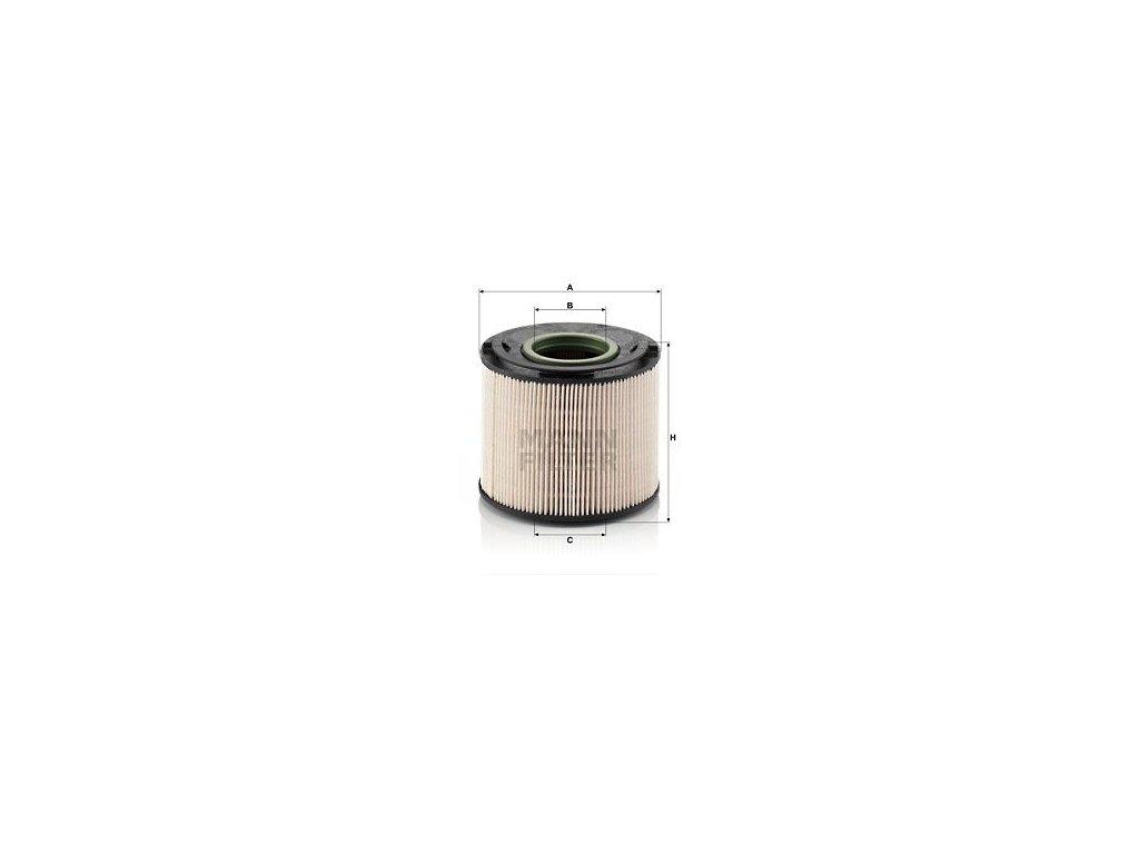Palivový filtr MANN-FILTER PU 1033 x