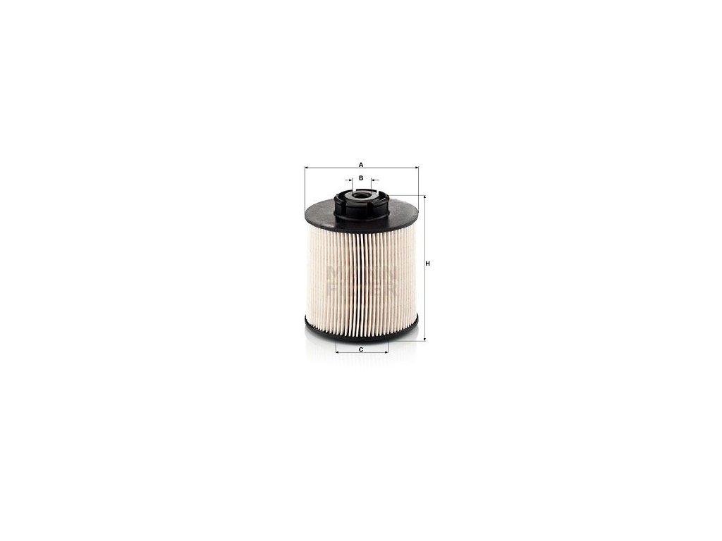Palivový filtr MANN-FILTER PU 1046/1 x
