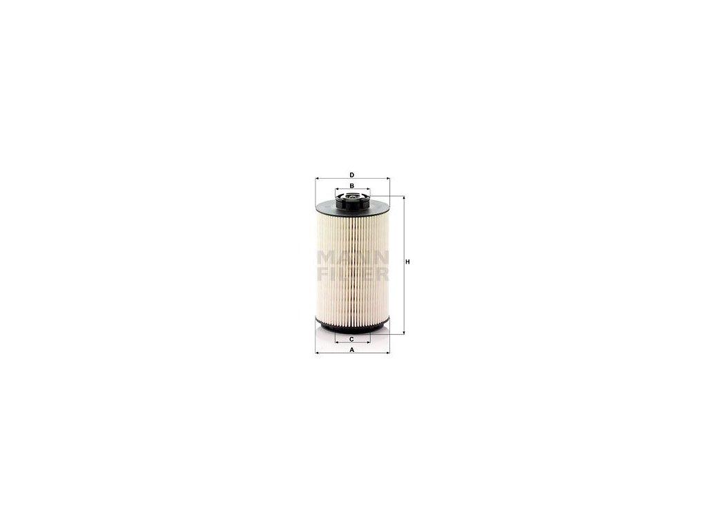 Palivový filtr MANN-FILTER PU 1058/1 x