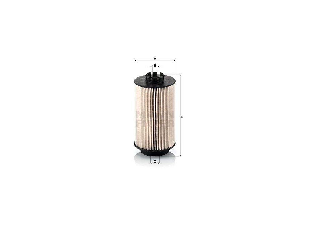 Palivový filtr MANN-FILTER PU 1059 x