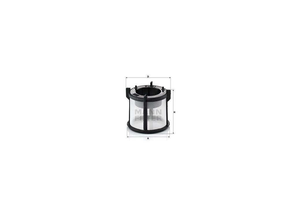 Palivový filtr MANN-FILTER PU 51 x