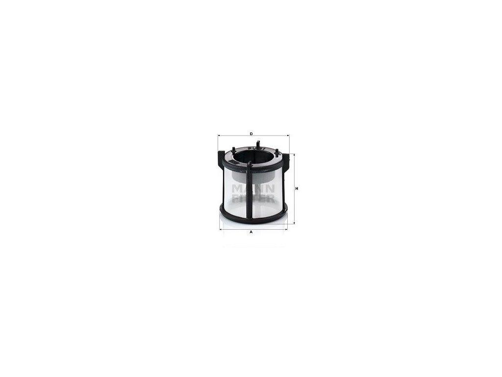 Palivový filtr MANN-FILTER PU 51 z