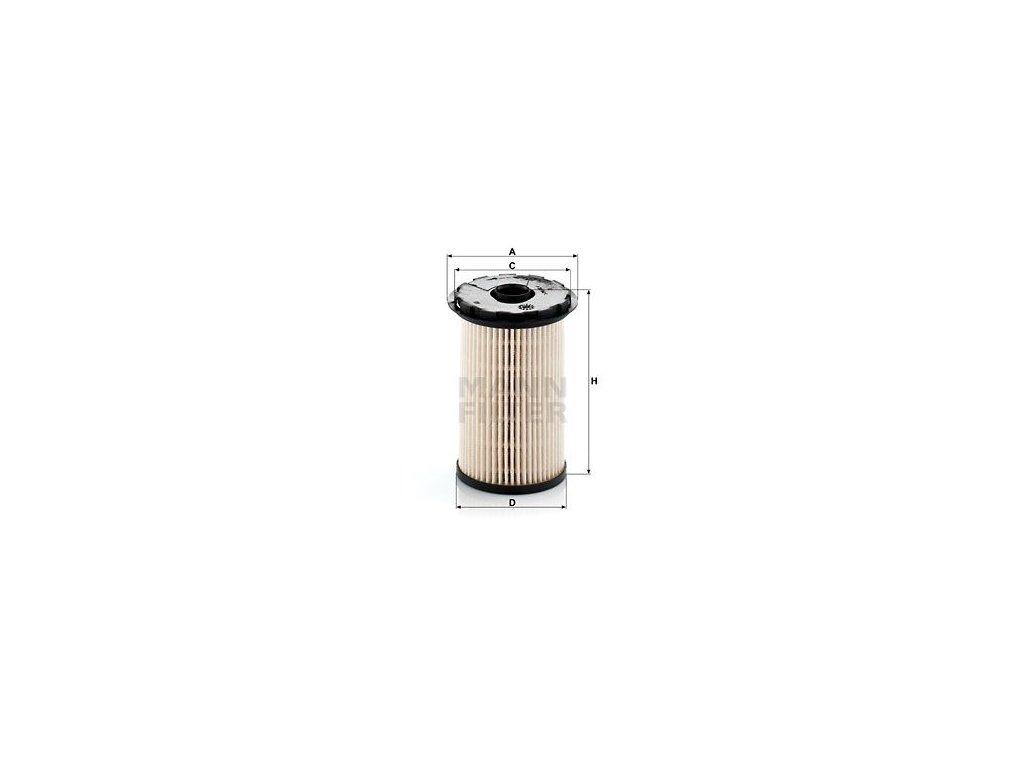 Palivový filtr MANN-FILTER PU 7002 x