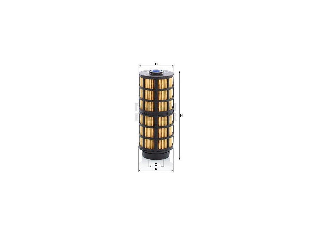 Palivový filtr MANN-FILTER PU 7004 z