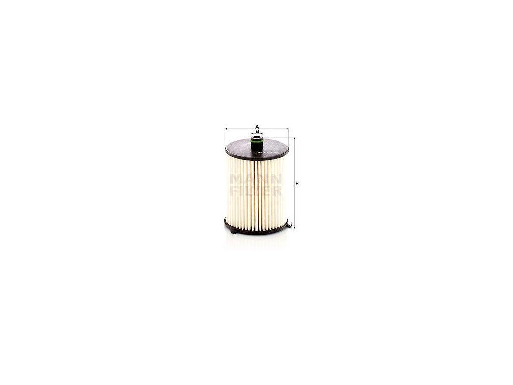 Palivový filtr MANN-FILTER PU 7007 z