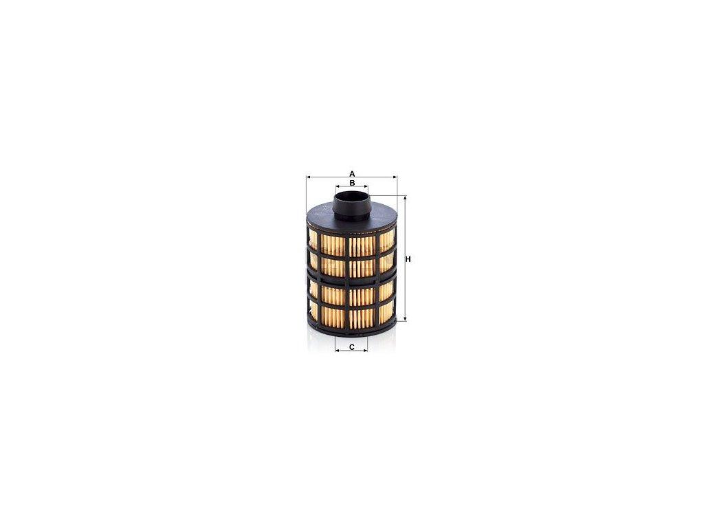 Palivový filtr MANN-FILTER PU 723 x