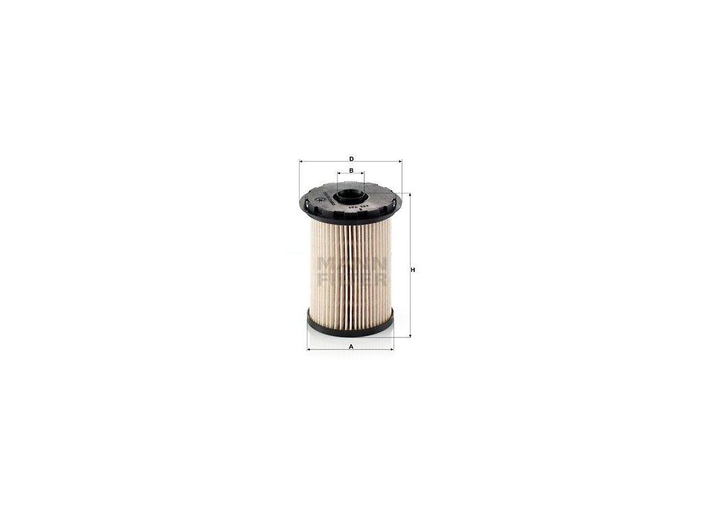 Palivový filtr MANN-FILTER PU 731 x