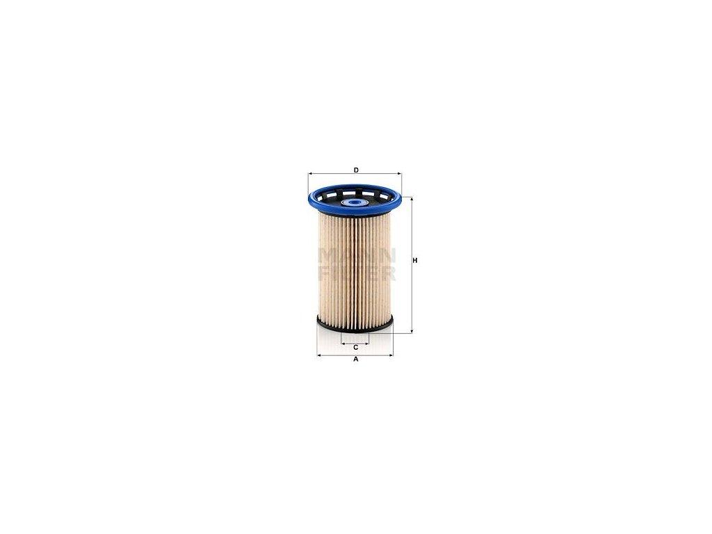 Palivový filtr MANN-FILTER PU 8007