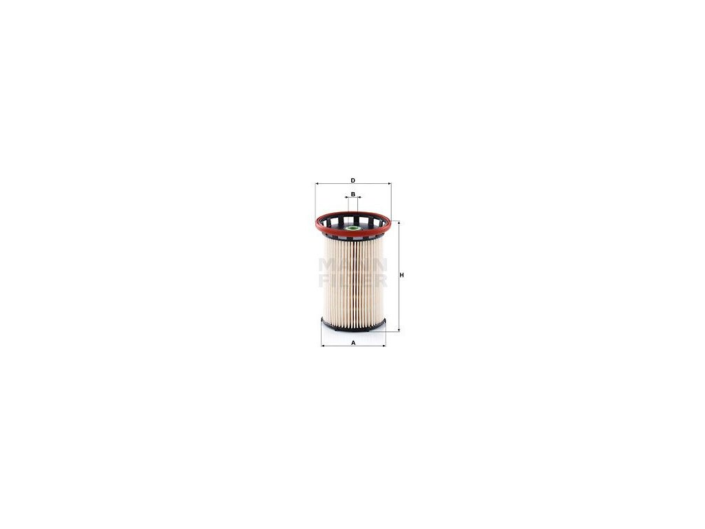 Palivový filtr MANN-FILTER PU 8008/1
