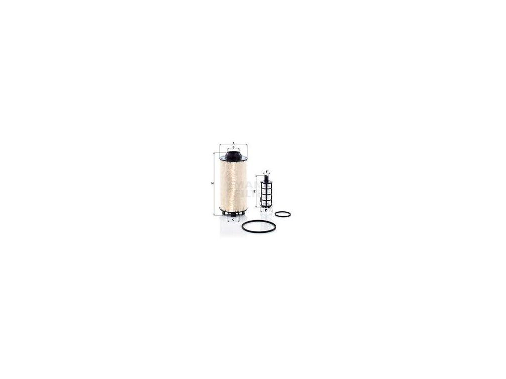 Palivový filtr MANN-FILTER PU 8010-2 x