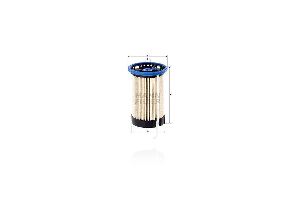 Palivový filtr MANN-FILTER PU 8014