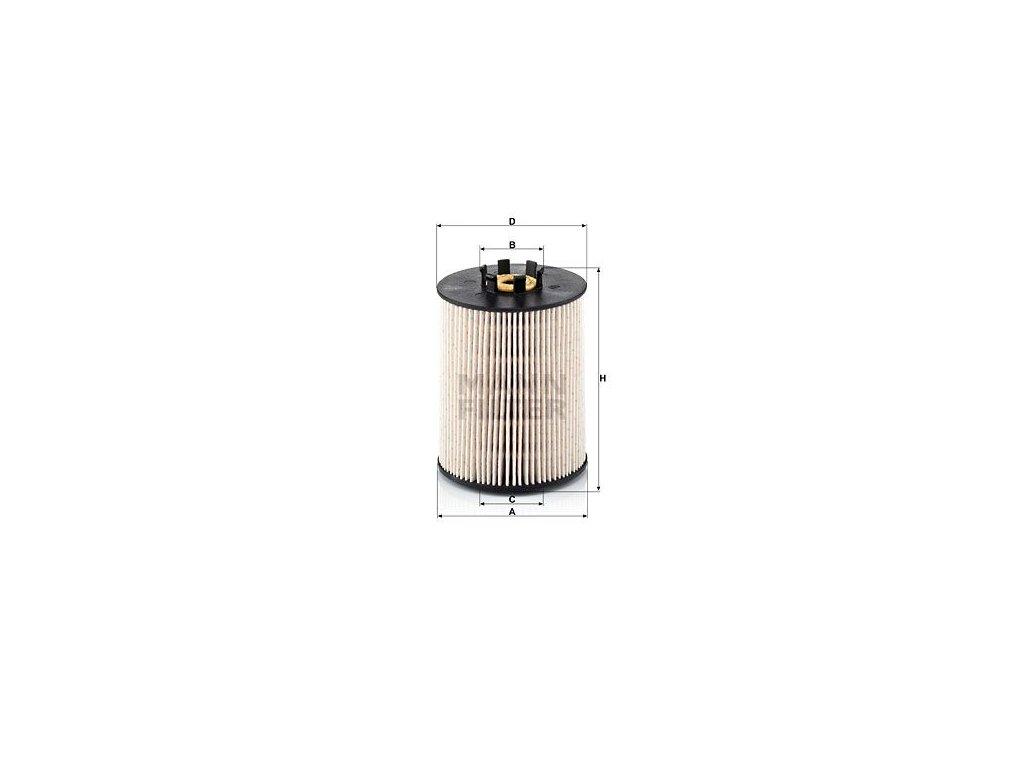 Palivový filtr MANN-FILTER PU 815 x