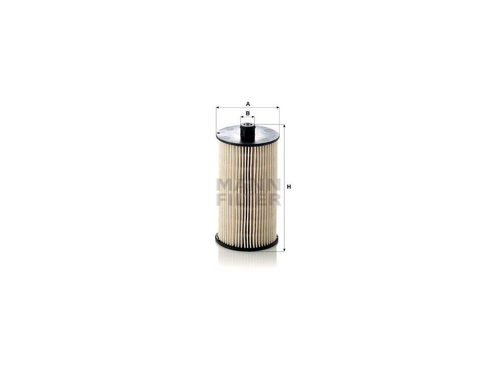 Palivový filtr MANN-FILTER PU 816 x