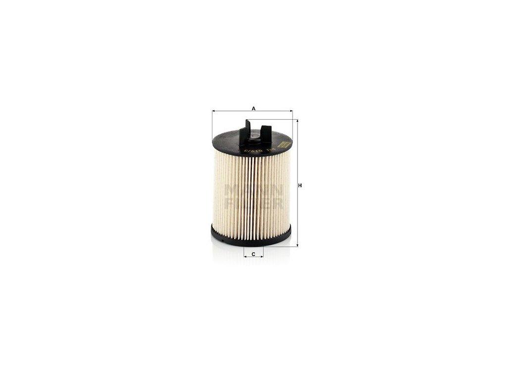 Palivový filtr MANN-FILTER PU 819/3 x