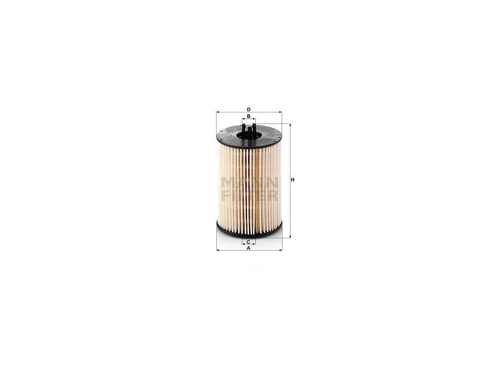 Palivový filtr MANN-FILTER PU 821 x-2