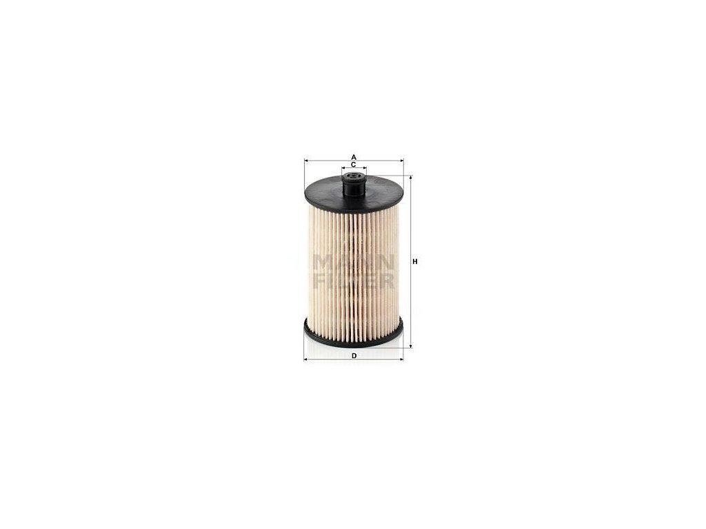 Palivový filtr MANN-FILTER PU 823 x