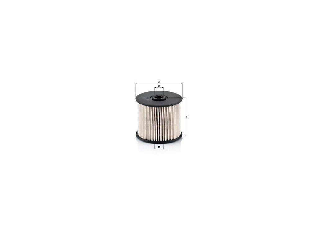 Palivový filtr MANN-FILTER PU 830 x