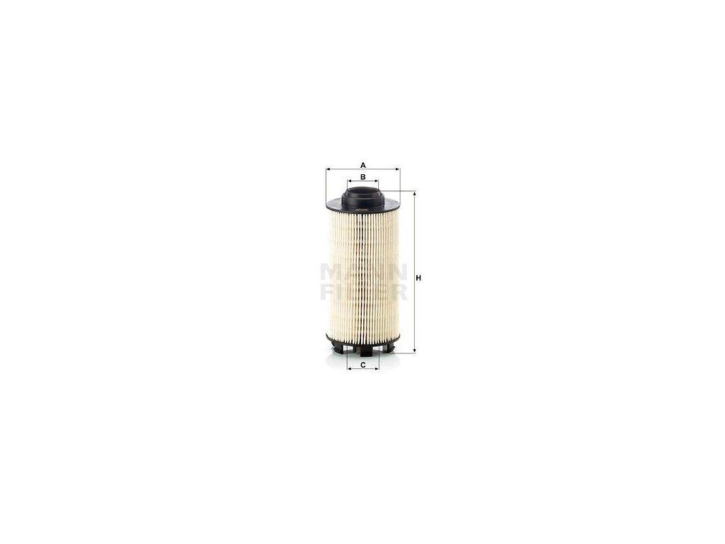 Palivový filtr MANN-FILTER PU 834/1 x